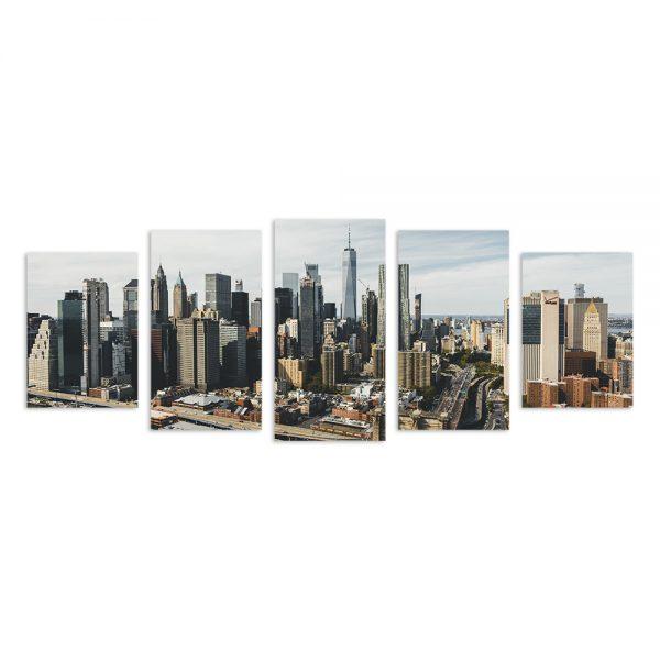Модульная фотокартина на холсте New York
