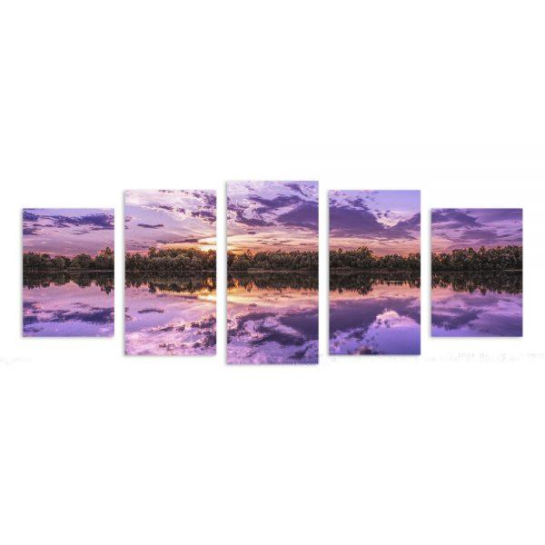 Модульная фотокартина на холсте Рассвет
