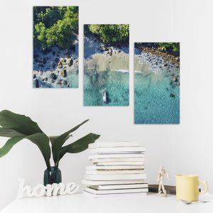 Модульна фотокартина на полотні Тропічний берег