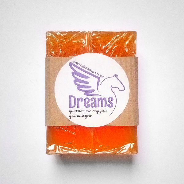 Натуральне мило ручної роботи «Солодкий апельсин»