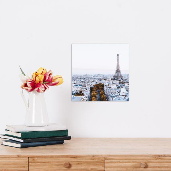 Самостоятельный сегмент модульной картины Париж