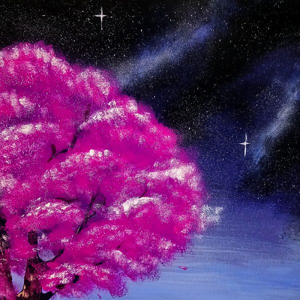 Авторська картина на полотні Гармонія Всесвіту