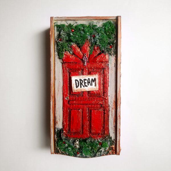 Шкатулка-купюрница ручной работы «Dream»