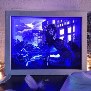 3D Lightbox-нічник Чудо Жінка