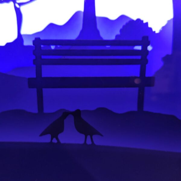3D Lightbox-нічник День Святого Валентина