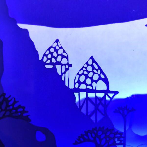 3D Lightbox-ночник Дивный мир