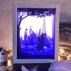3D Lightbox-нічник Париж