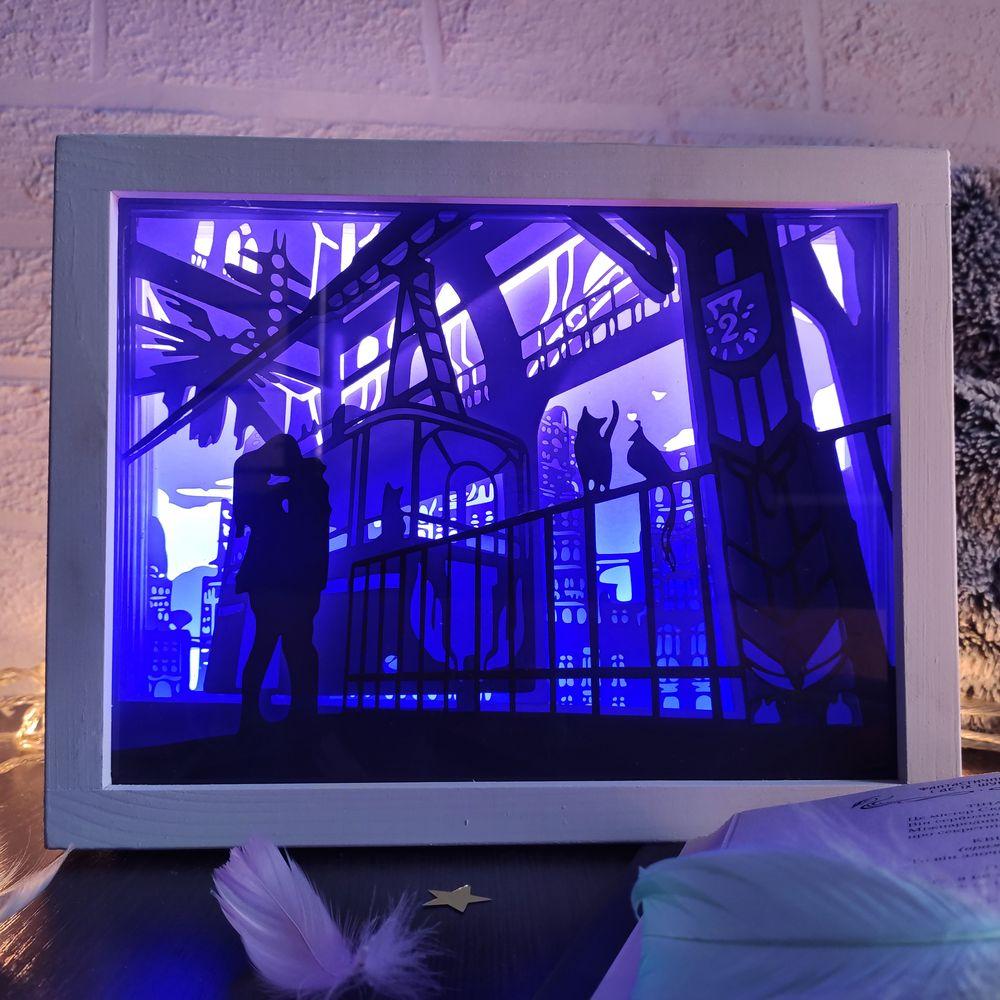 3D Lightbox-ночник «Первый поцелуй»