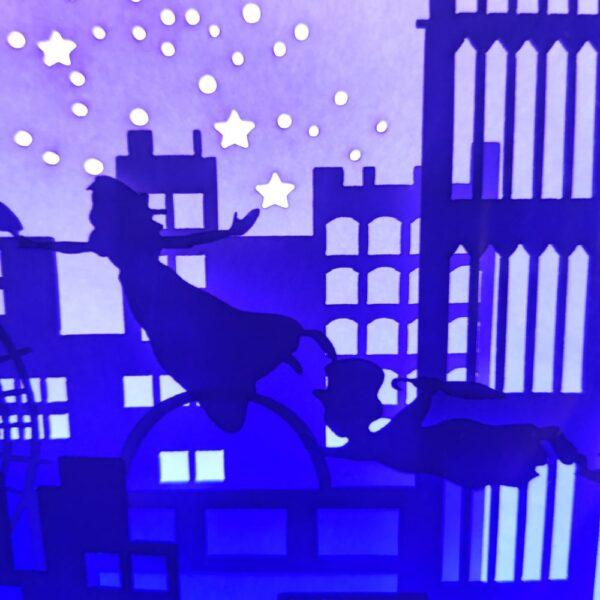 3D Lightbox-нічник Пітер Пен