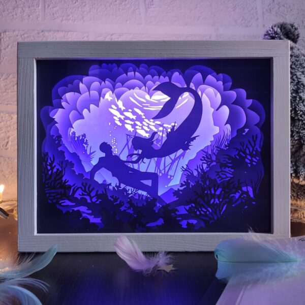 3D Lightbox-нічник Порятунок