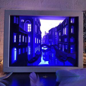 3D Lightbox-нічник Венеція