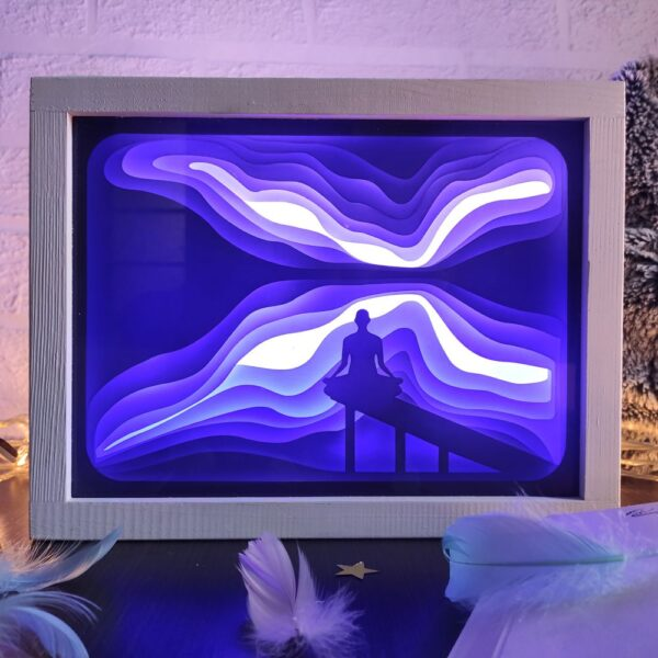 3D Lightbox-нічник Дзен