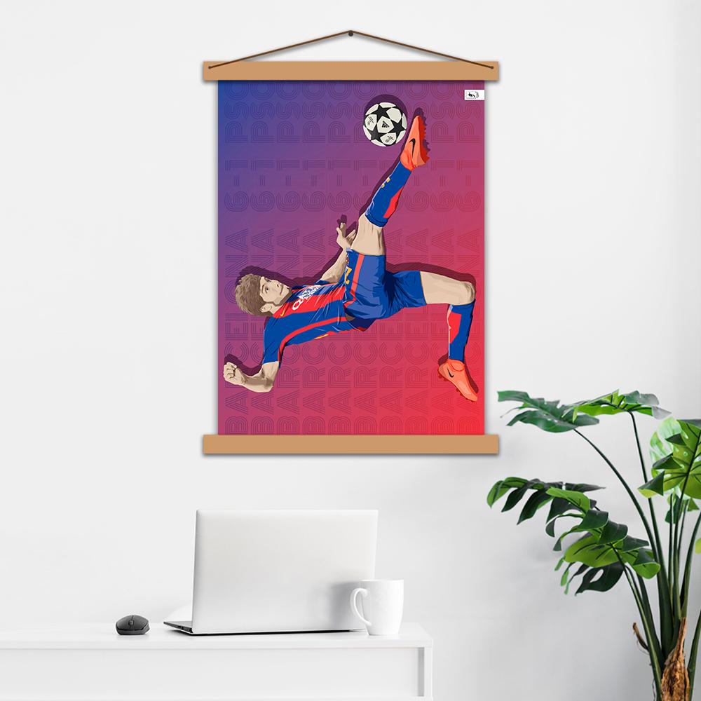 "Постер авторський ""Sergi Roberto"""