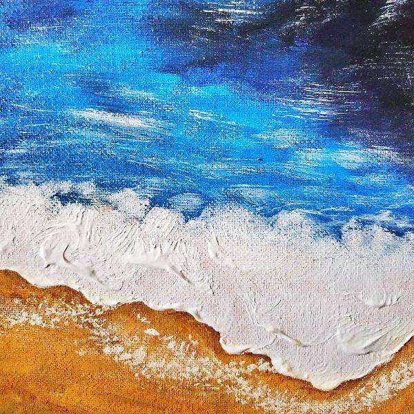 Авторская картина на холсте Море
