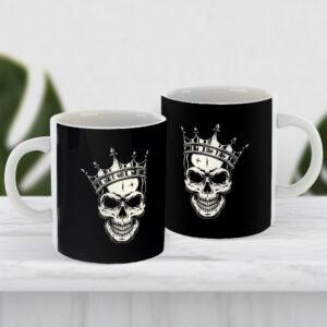 Чашка Череп