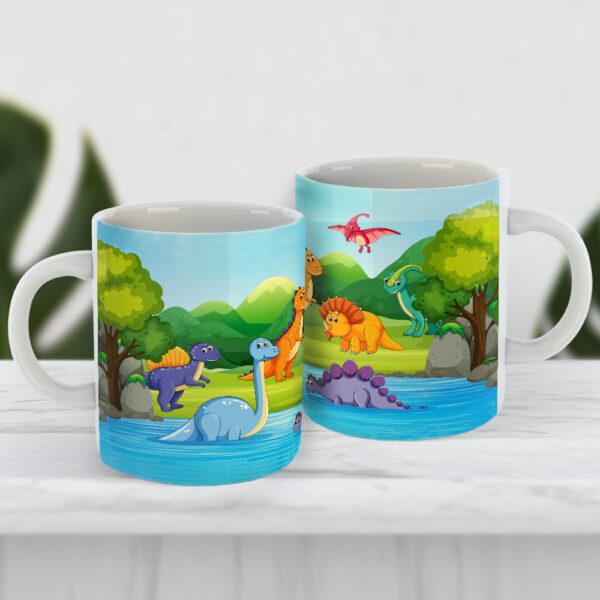 Чашка з динозаврами для дитини Парк юрського періоду