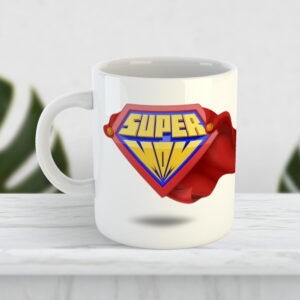 Чашка для мамы Super Mom