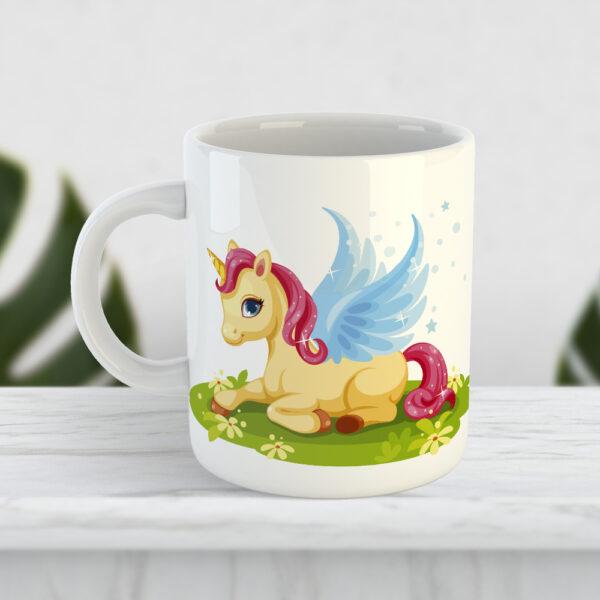 Чашка для дитини Казковий єдиноріг