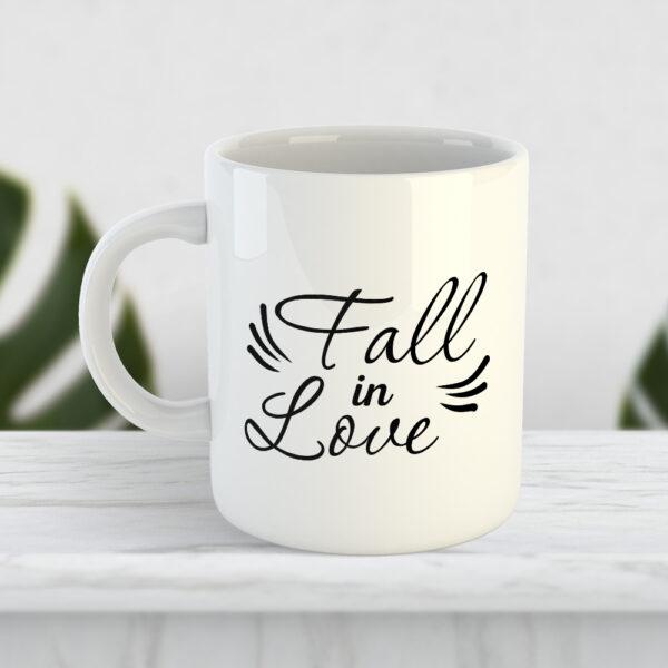 Чашка Fall in love