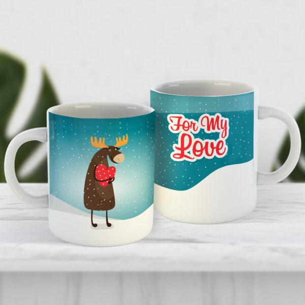 Чашка For my love