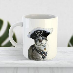 Чашка Кіт - пірат