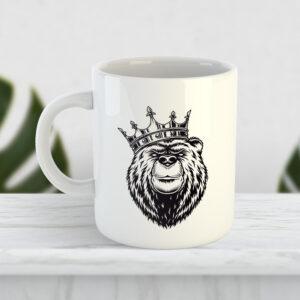Чашка Ведмідь