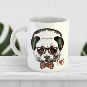 Чашка Панда на стилі