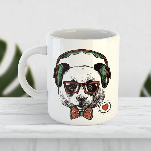 Чашка Панда на стиле