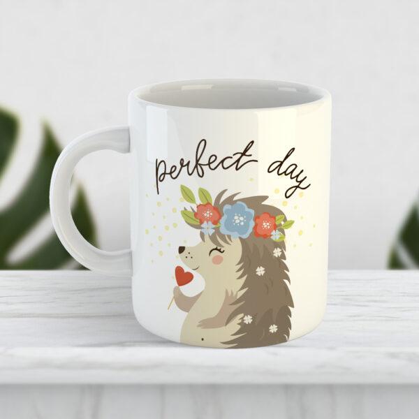 Чашка з їжачихою Perfect day