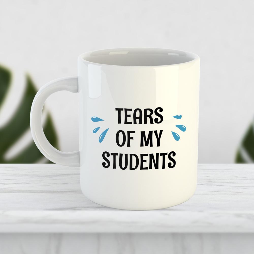 """Чашка """"Tears of my students"""""""