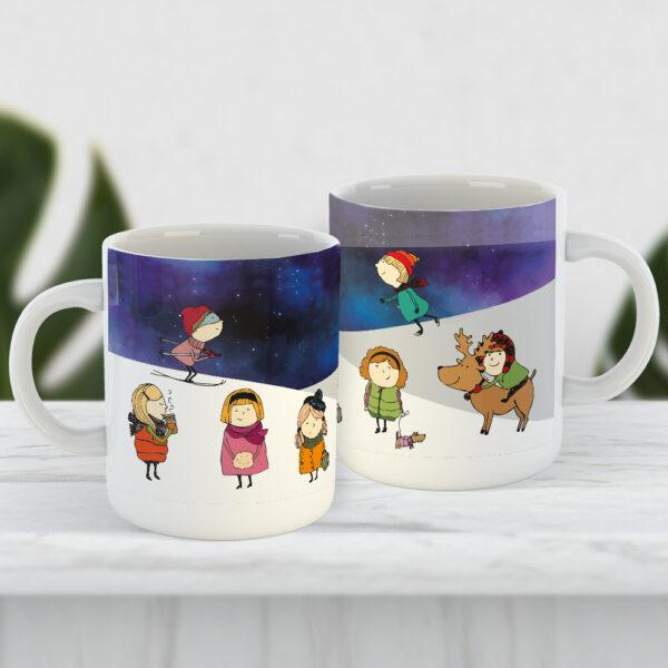 Чашка Зимнее настроение