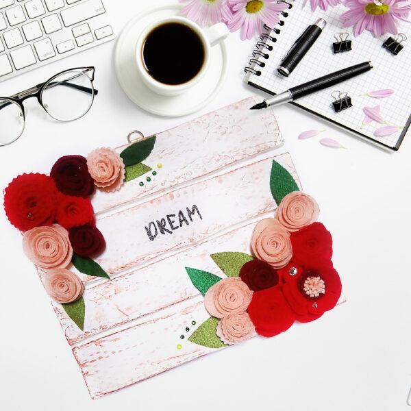 Декоративное настенное панно «Dream»