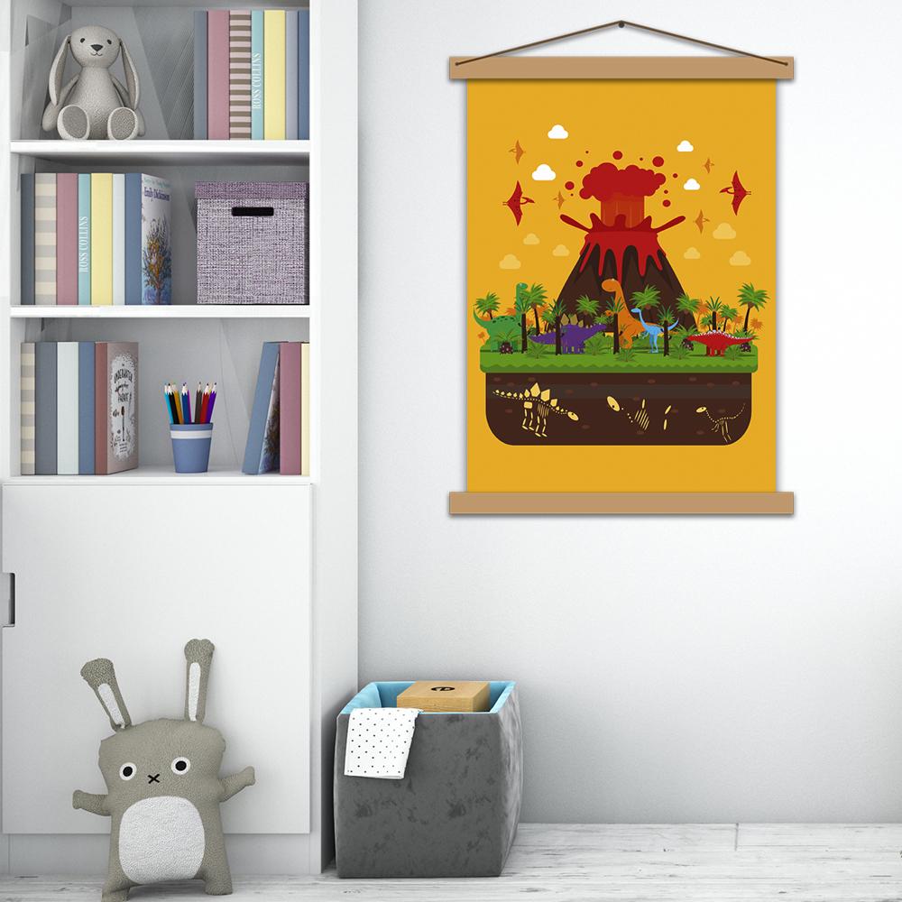 "Дитячий постер ""Динозаври"""