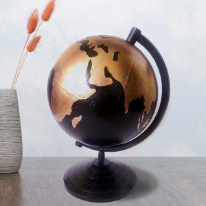 Глобус с ручной обработкой Золотой мир
