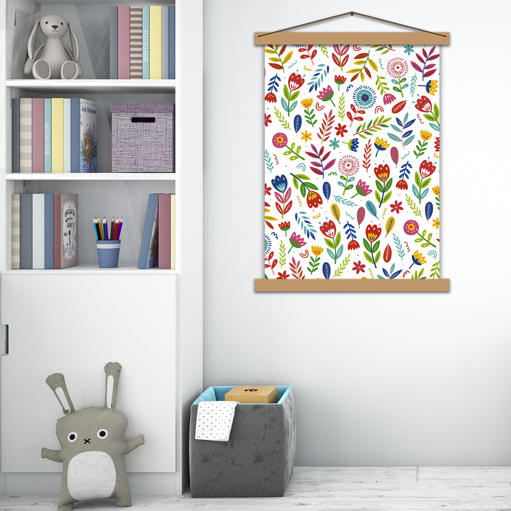 """Інтер'єрний постер """"Квіткова галявина"""""""