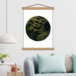 Интерьерный постер Лесной ковёр