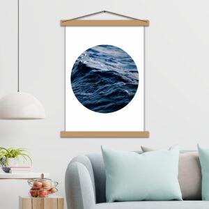 Інтер'єрний постер Морська хвиля