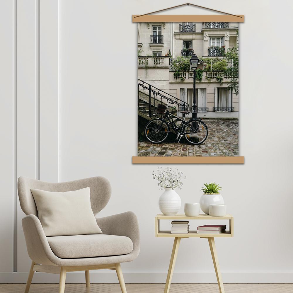 """Інтер'єрний постер """"Паризький провулок"""""""