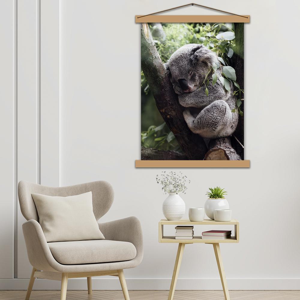 """Інтер'єрний постер """"Спляча коала"""""""