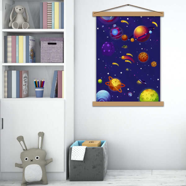 Постер в детскую Космическое путешествие