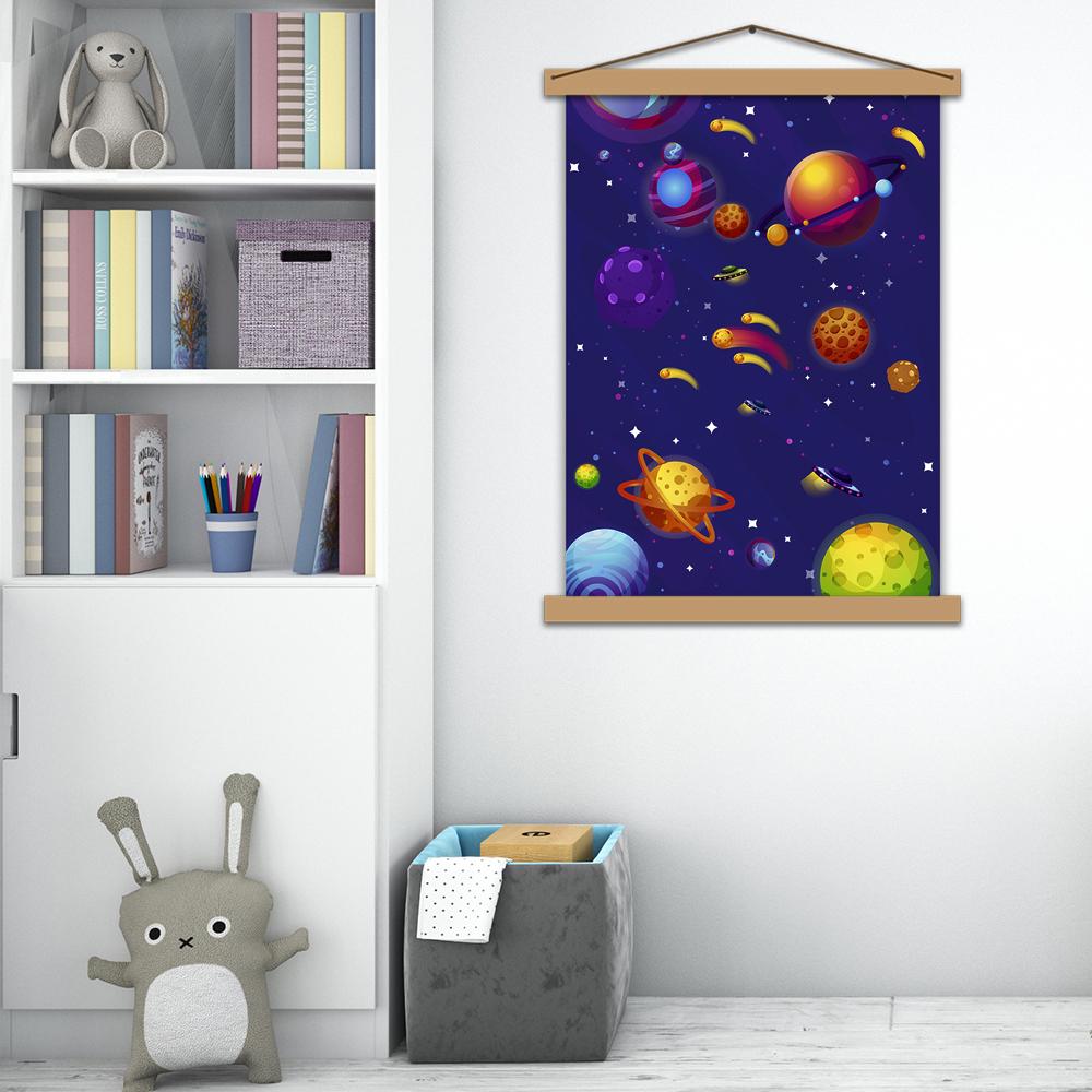 """Постер в дитячу """"Космічна подорож"""""""