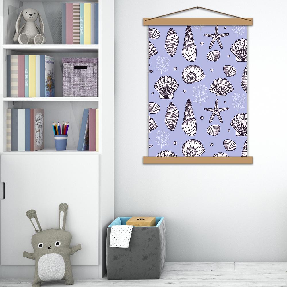 """Інтер'єрний постер в дитячу """"Морські скарби"""""""