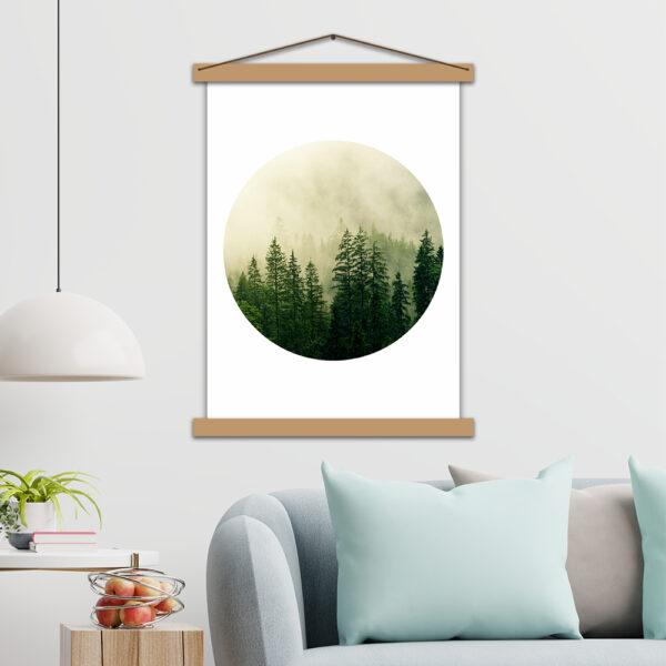 Інтер'єрний постер Загадковий ліс