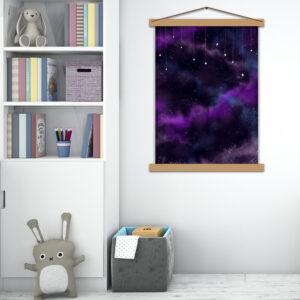 Интерьерный постер Звёздная тайна