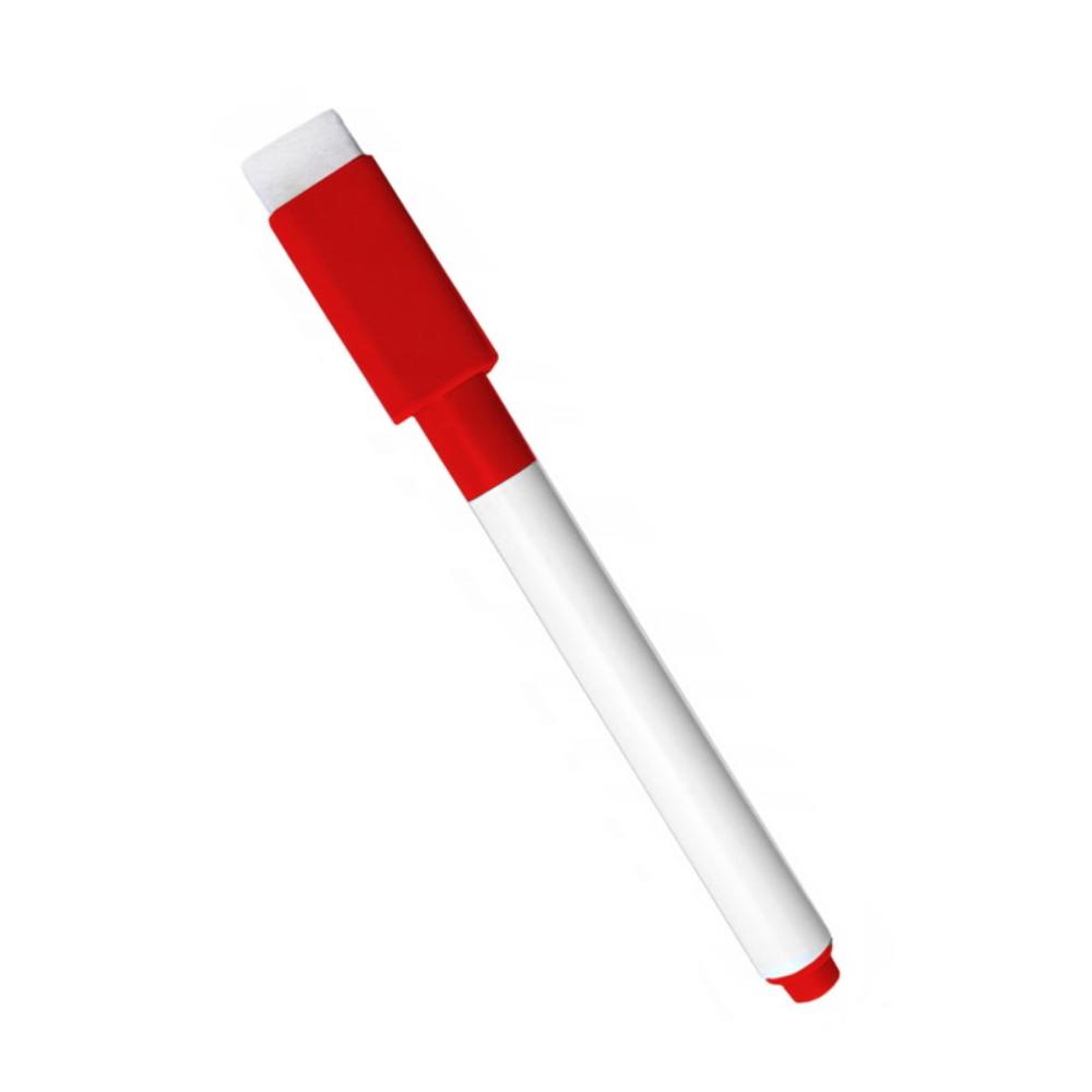 Червоний маркер для магнітних планерів та досок з магнітним колпачком