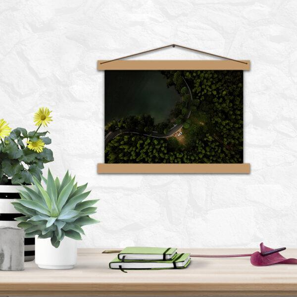 Креативный постер для офиса - Дорога