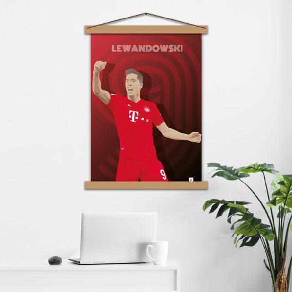 Постер авторський Lewandowski