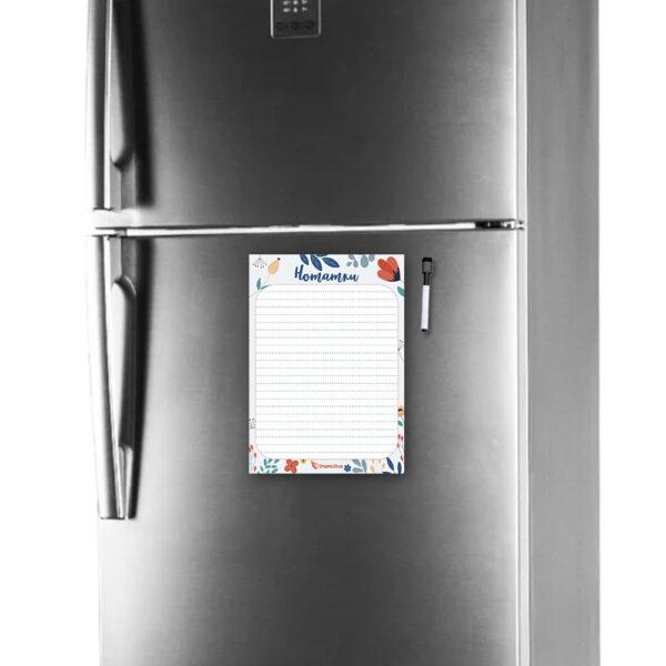 Магнітні нотатки А4 на холодильник Творчий порив