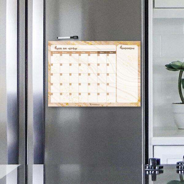 Магнітний планер А3 на холодильник Благополуччя