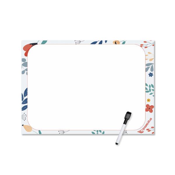 Магнитный лист А4 для рисования Время креатива
